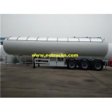 Reboques do tanque do propano de 50000L 20MT Transportaion