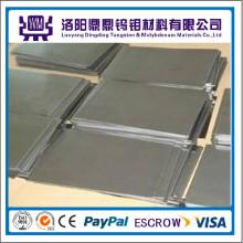 Placas / folhas de alta temperatura do molibdênio da liga Tzm da fonte do fabricante de China usadas na fornalha crescente da safira