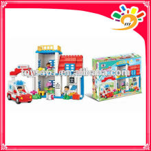 funny happy block set with music battery operated