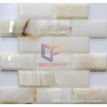 White Jade Stone Mosaic (CFS1036)