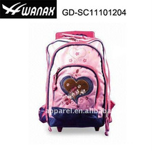 Satin Beauty Kind Trolley Student Rucksack