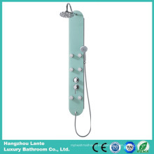 El panel de ducha de vidrio de seguridad de lluvia moderna (LT-B729)