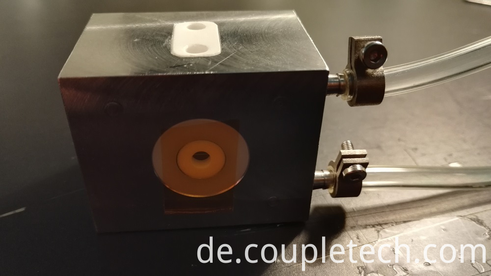 Water-cooled BBO pockels cell