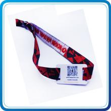 Umweltfreundliche Polyester-RFID gesponnene Armbänder für Ereignisse