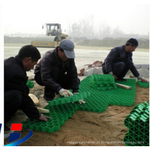 Gravel Grid Black HDPE Extruded
