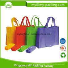Nicht-gewebte Taschen-faltbare Taschen-Förderung Eco-pp