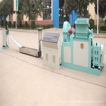 XPS recycling and pelletizer machine