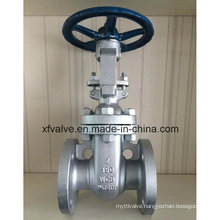 150lb Cast Carbon Steel Wcb Flange End RF Gate Valve