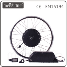 MOTORLIFE / OEM marque 2015 VENTE CHAUDE CE passer 48 V 1000 w vélo électrique kit, batterie 48 v 17.5ah max