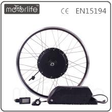 MOTORLIFE / OEM marca 2015 VENDA QUENTE CE passar 48 V 1000 w kit bicicleta elétrica, bateria 48 v 17.5ah max