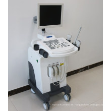 Dw370 Trolley máquina de ultrasonografía médica y ultrasonido eco china