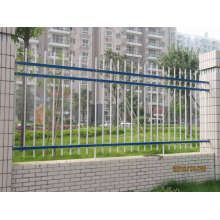 Galvanized Decorative Metal outdoor metal fence