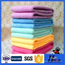 Lavado rápido de toallas de microfibra en seco