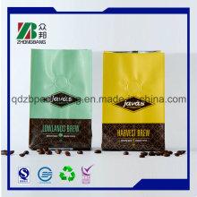 Quad Sealing Bright Farben Kaffeebeutel