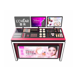 Acrylic Cosmetics Counter Stand