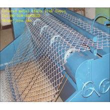 Clôture de maillon de chaîne en métal coloré