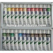 24c*12ml oil color paint set DIY products