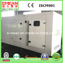 Grupo de gerador diesel elétrico da turbina silenciosa 100kw / 125kVA