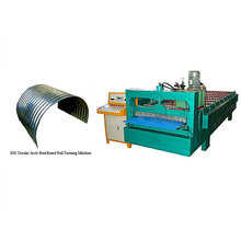 QJ automatic roof curving roll forming machine