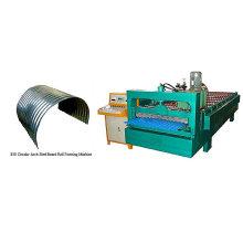 QJ telhado automático encurvamento máquina de prensagem