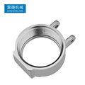 OEM service aluminum forged pump housing with precision cnc machining parts