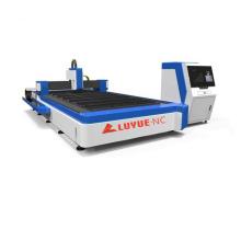 Excelente cortador a laser de fibra 1000W para aço de liga