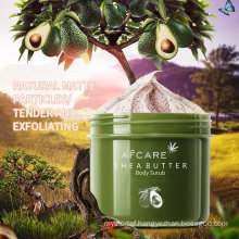 Wholesale Bulk Custom Private Label Vegan Organic Whitening Exfoliating Sugar Body Scrub Wholesale OEM ODM Body Scrub for Ingrown Hair