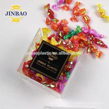 Jinbao clair Plexiglass Doux Boîte En Gros Petit Acrylique Boîte De Bonbons