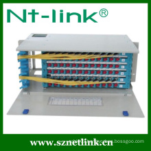 SC adaptor 96 port fiber optic patch panel