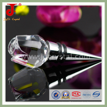Fancy Crystal Wine Stopper for Wedding Gifts
