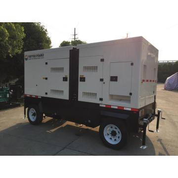 Gerador a diesel tipo trailer
