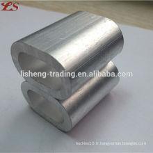Vente chaude din3093 ferrules en aluminium pour câble