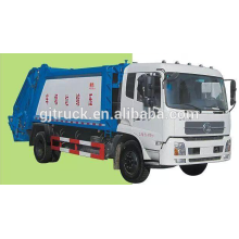 Dongfeng Tianjin 10CBM garbage truck /compact Garbage truck/compressor truck /hook arm garbage truck /swing arm garbage truck