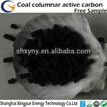 le charbon actif est pour le gaz, le gaz liquéfié fait dans l'usine de charbon actif de désulfuration
