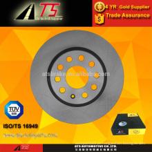 Rotor de freio de disco de freio com TS16949 do fabricante chinês 1K0615301AK para AUDI