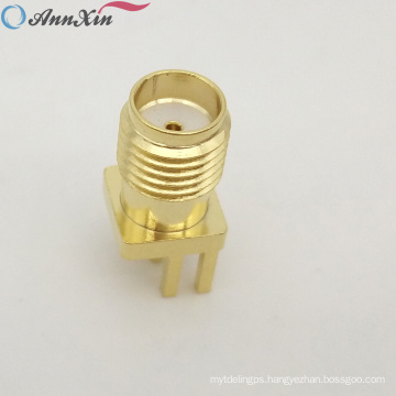 High Quality SMA Connector PCB Mount Female Outlet Jack Connector