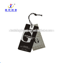 China wholesale folded hang tag