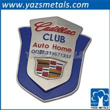 YAZS shenzhen fábrica personalizado metal logotipo do carro marca emblema do carro