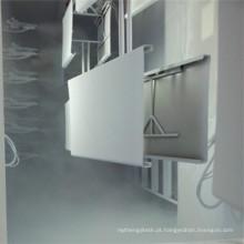 Estande de revestimento em pó Spl com sistema de reciclagem