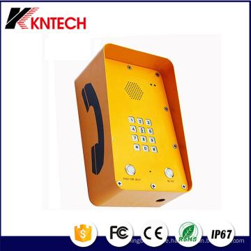 WiFi VoIP Kombinationen Outdoor Notruftelefon Knzd-09A