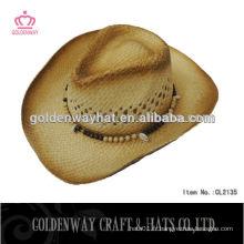 Chapeaux de paille de cowboy chine à bas prix