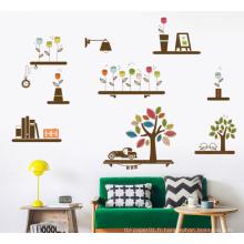 Stickers muraux designs personnalisés grande taille mur décor pas cher autocollant prêt à l'emploi