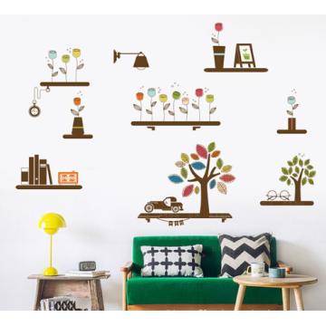 Diseños personalizados etiqueta de la pared de gran tamaño decoración de la pared barato listo hecho etiqueta