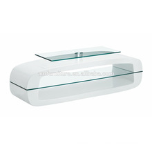 High gloss fiberglass TV stand-AM-TV095