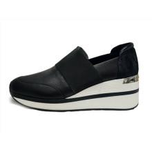 Zapatos casuales de superficie neta de calidad para mujer