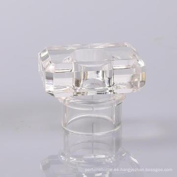 Tapa de perfume personalizada de moda transparente