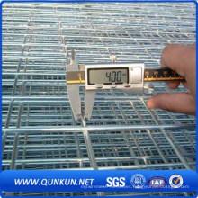 Panel de malla de alambre soldado con autógena galvanizado en el mercado de China