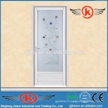 JK-AW9014 cadre en alliage d'aluminium cadre de porte avec verre