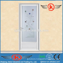 JK-AW9014	aluminum alloy frame screen door design with glass
