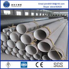 Tuyau en acier corrosif en acier inoxydable homologué ASTM de trois po avec grand diamètre